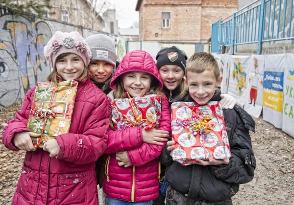 Dagcentret CCC, Lviv, Ukraina. Operation julklappen